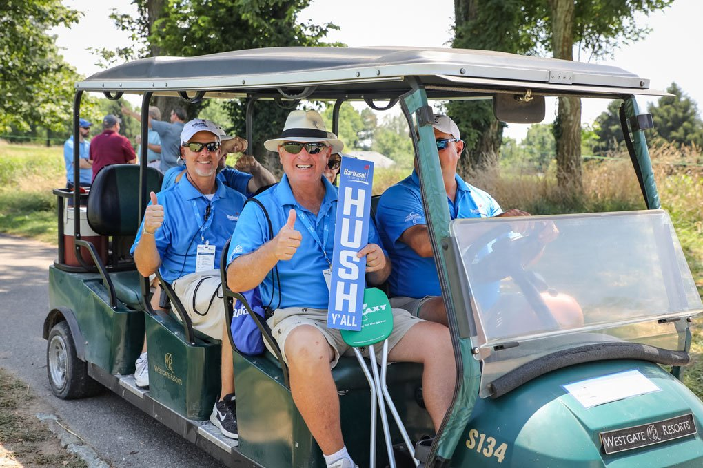 Happy Volunteers on their way home